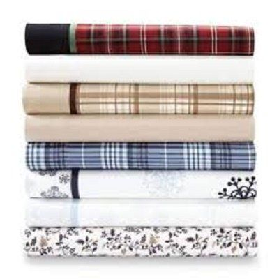 Cannon Sheet Set - Flannel-twin Size{ivory}