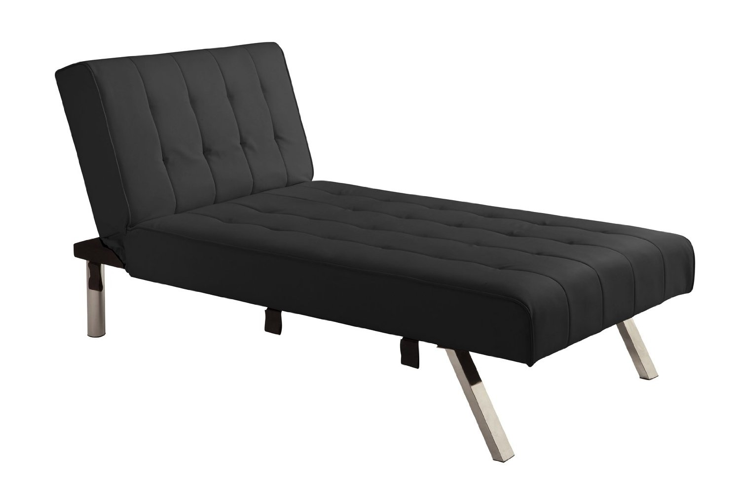 DHP Emily Chaise Lounger, Black