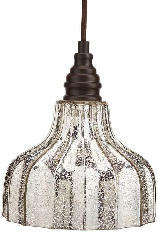 Danica 1 Light Pendant In Oiled Bronze