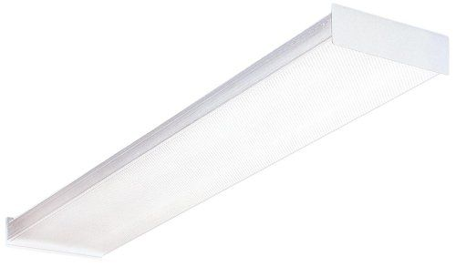 Lithonia Lighting SB 232 120 GESB 4-Foot 2-Light T8 Fluorescent Ceiling Fixture, White