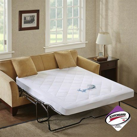 Sleep Philosophy Holden Waterproof Sofa Bed Pad with 3M Moisture Management, Full