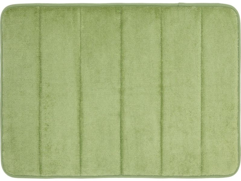 WPM'S Incredibly Soft and Absorbent Memory Foam Bath Mat, 17 By 24-inch (Sage)