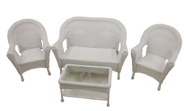 How Do I Clean White Wicker Furniture furniture white outdoor wicker furnit