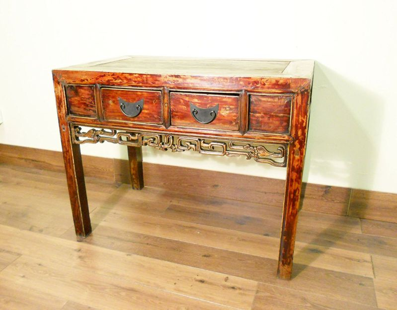 Antique Chinese Ming Desk (Console Table) (5608), Circa 1800-1849 - Antique Chinese Console Table For Oriental Look