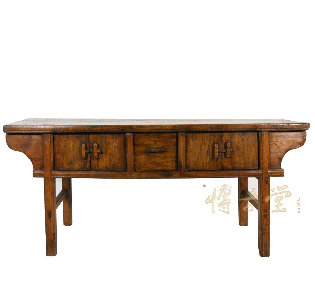 Antique chinese console table for oriental look chinese antique shan xi consolebuffet table 13lp56 geotapseo Gallery