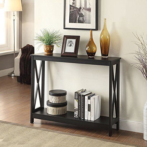 Convenience Concepts Oxford Console Table - Black