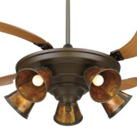 Fanimation FP825OB 43-Inch Air Shadow Traditional 5-Blade Ceiling Fan, Oil-Rubbed Bronze