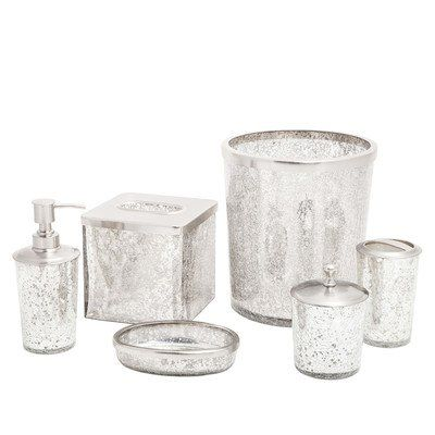 Ice 6 Piece Bath Accessory Set