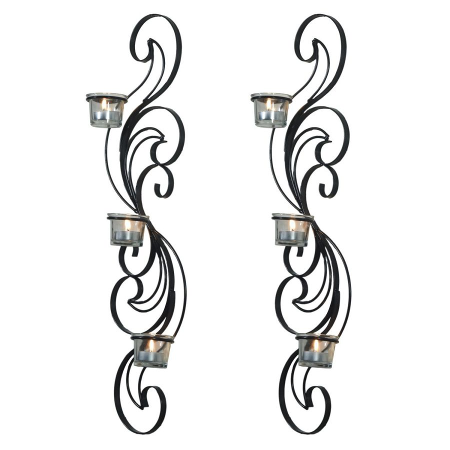 Joveco Wall Mount Candle Sconces Holders, Set of 2