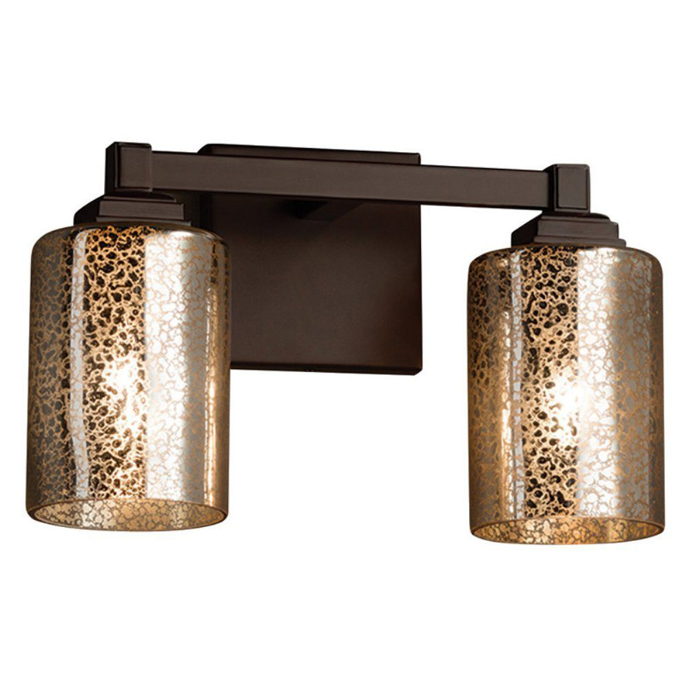 Mercury Glass Bathroom Light Fixtures for Classic Look