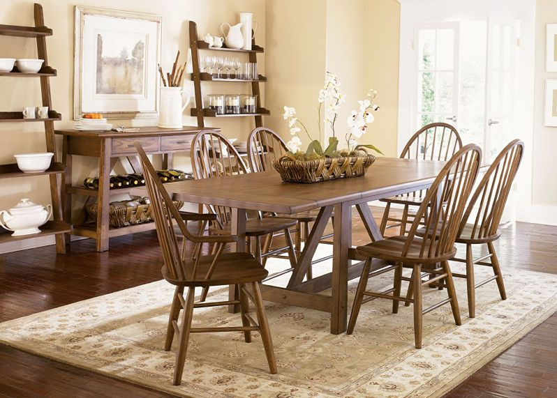Liberty Farmhouse Trestle Table 139-T4002