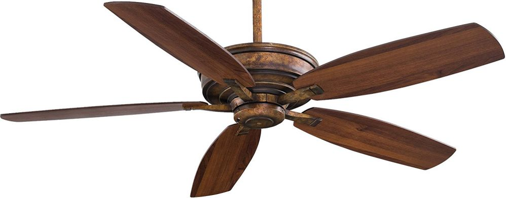 "Minka-Aire F696-VP, Kafe-XL, 60"" Ceiling Fan with Remote Control, Vineyard Patina"