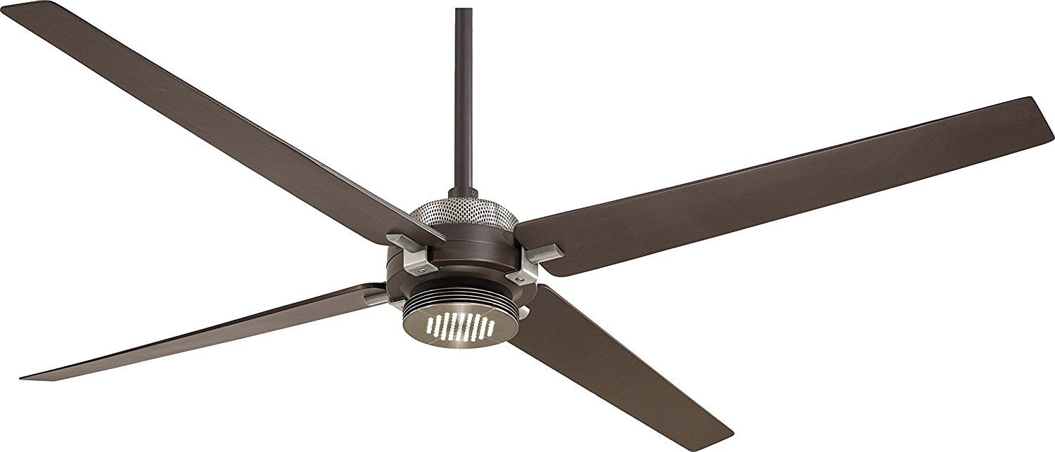 "Minka-Aire F726-ORB/BN, Spectre Oil-Rubbed Bronze 60"" Ceiling Fan w/ Light & Remote Control"