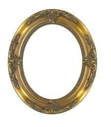 Rabbetworks Ornate Gold Oval Picture Frame 8x10