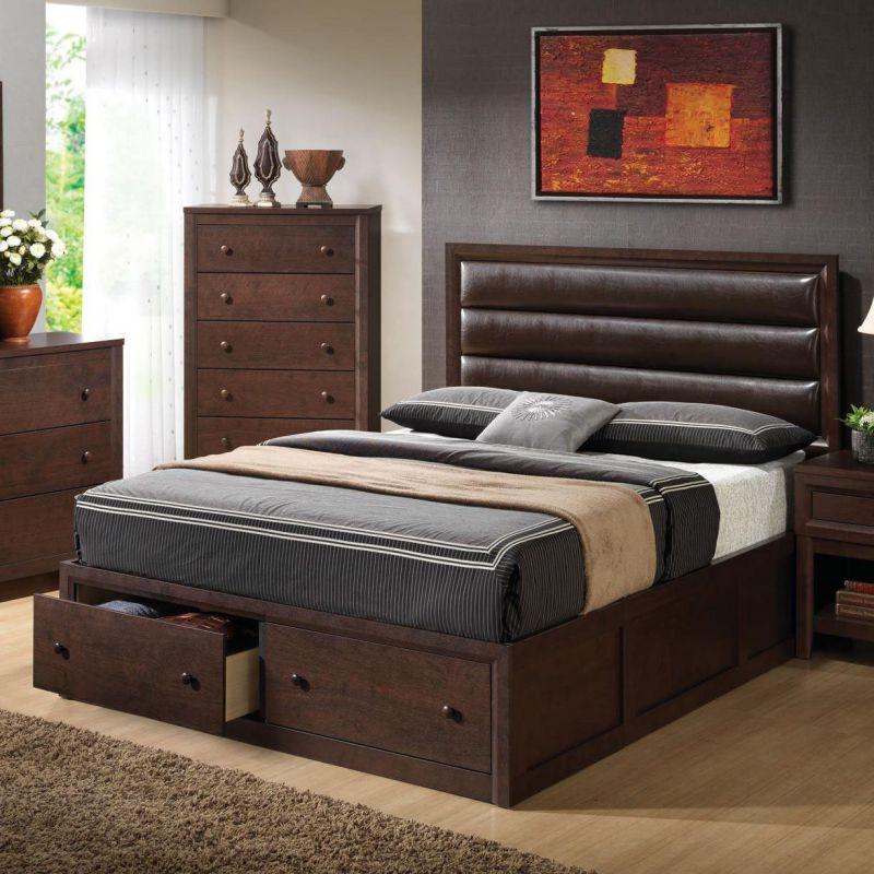 Remington Contemporary Casual Queen Bed