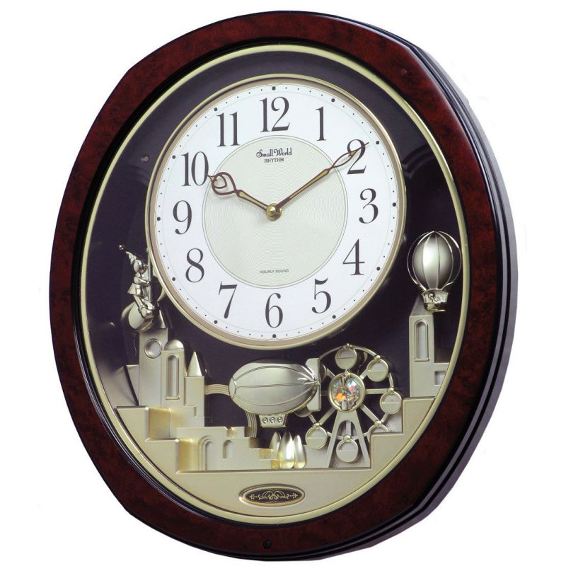 Rhythm USA Clocks Joyful Land Wall Clock