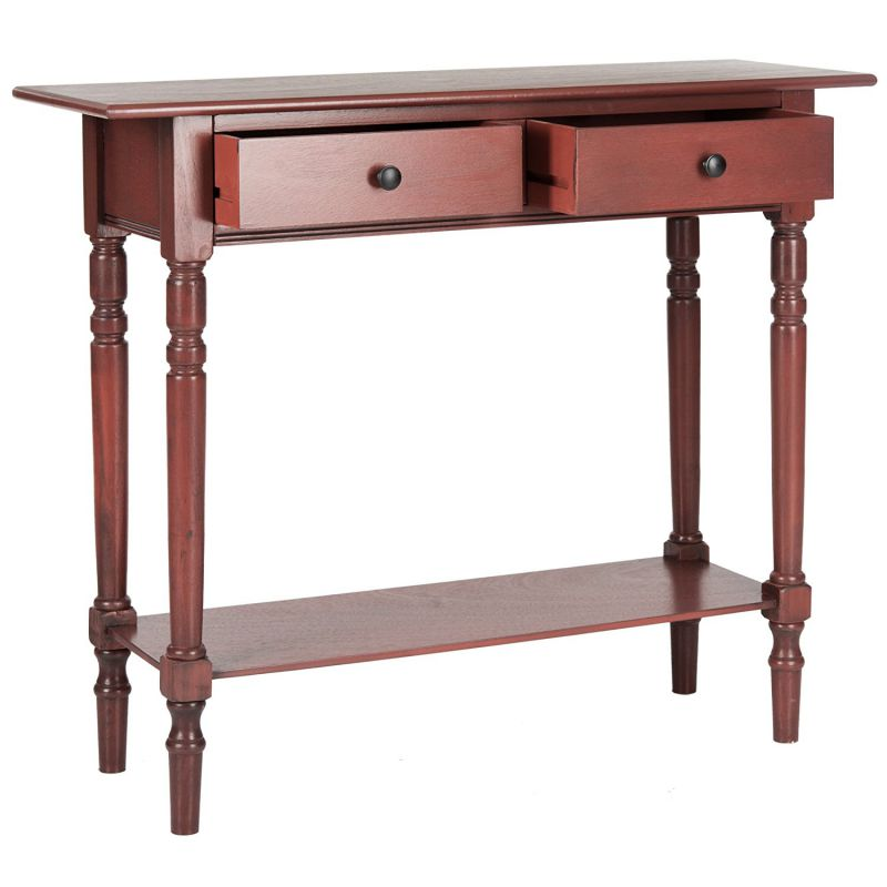 Safavieh American Homes Collection Rosemary Console Table, Red