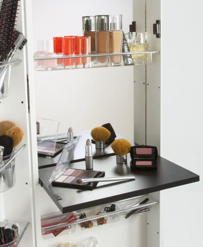 Pdrop-down vanity