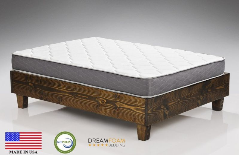 Dreamfoam Bedding Queen 9-Inch Two-Sided Pocket Spring Dreams Coil Mattress