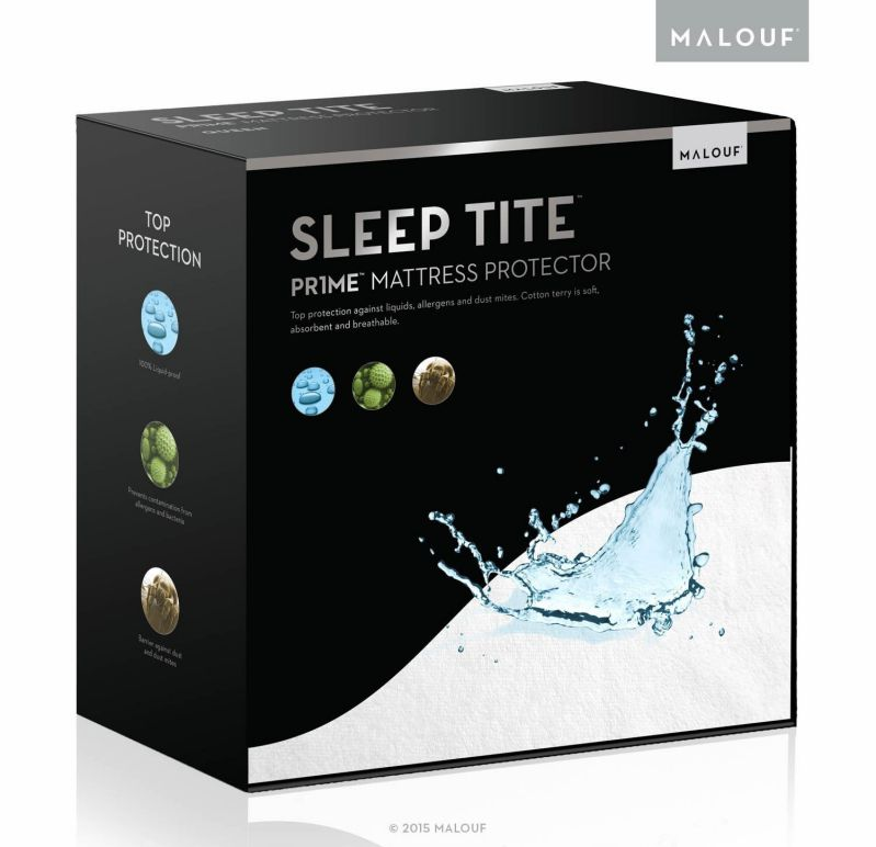 SLEEP TITE Hypoallergenic Waterproof Mattress Protector