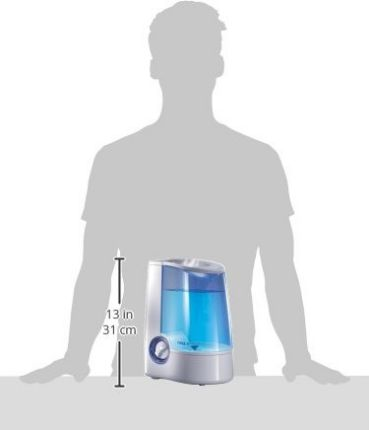 Vicks Mist Humidifier Dimension