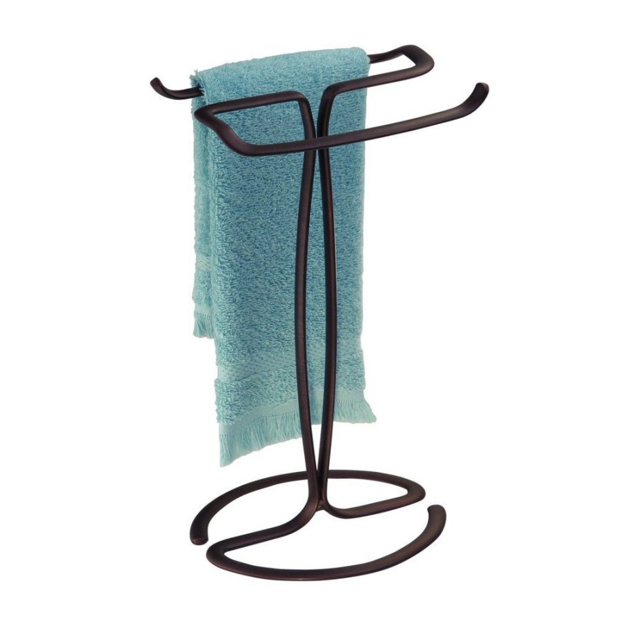 InterDesign Axis - Free Standing Bathroom Vanities Towel Rack
