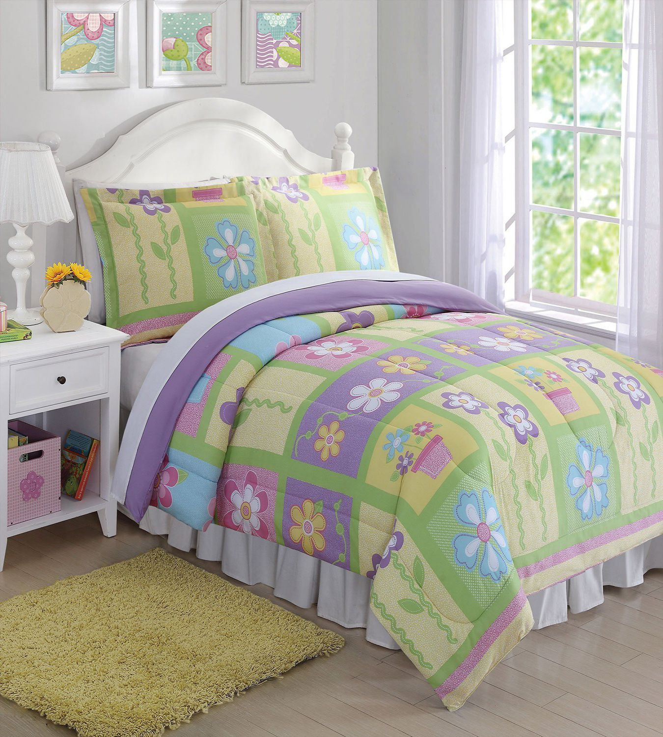 Laura Hart Kids Sweet Helena Full Queen Comforter Set