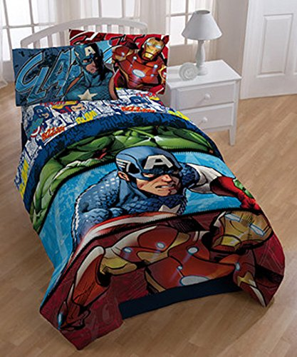 Marvel Avengers 2 Publish Reversible Comforter, Twin