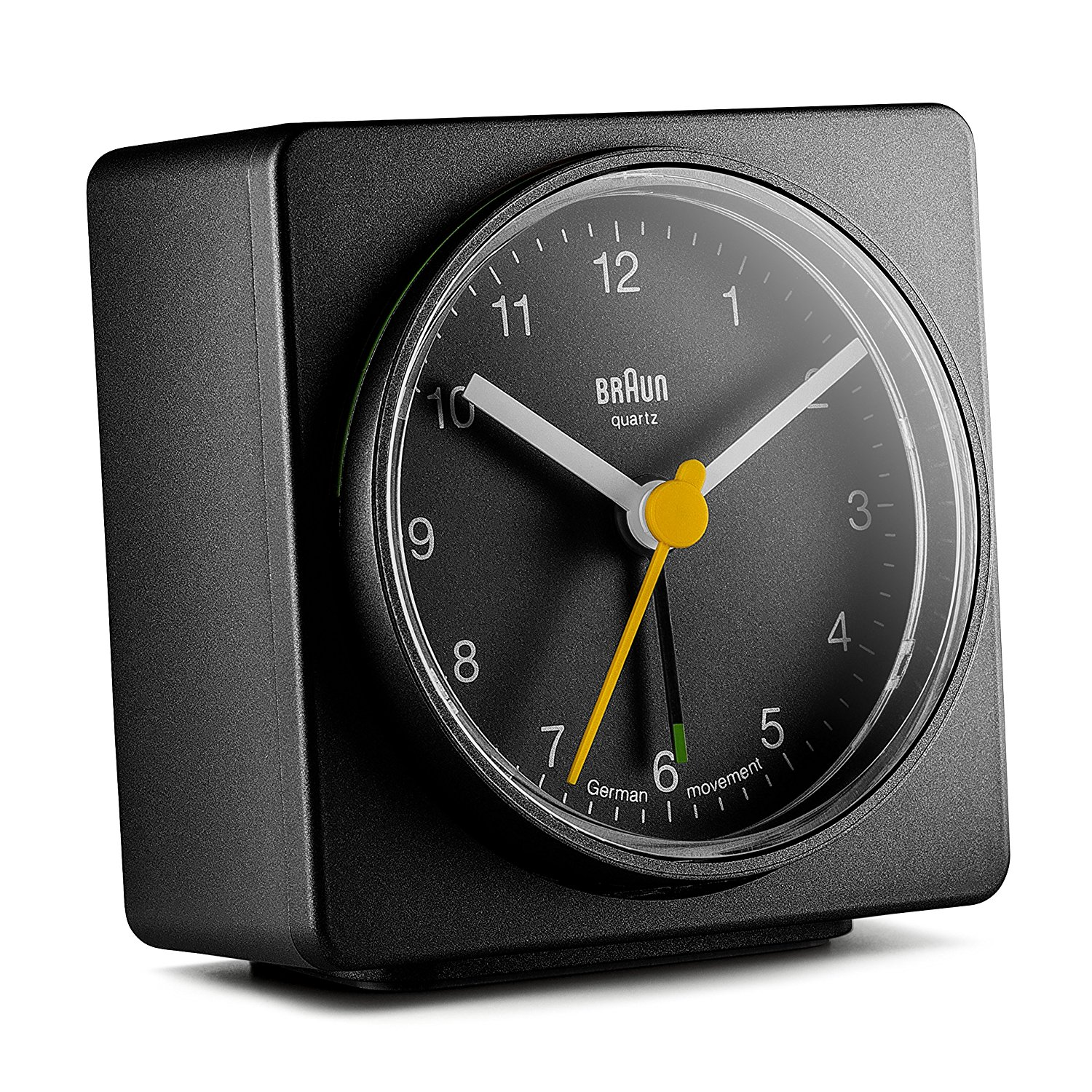 Braun Men's Square Alarm Clock