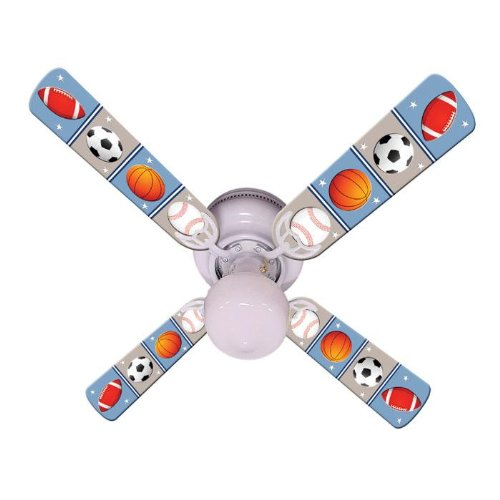 Ceiling Fan Designers Kids Play Ball Indoor Ceiling Fan