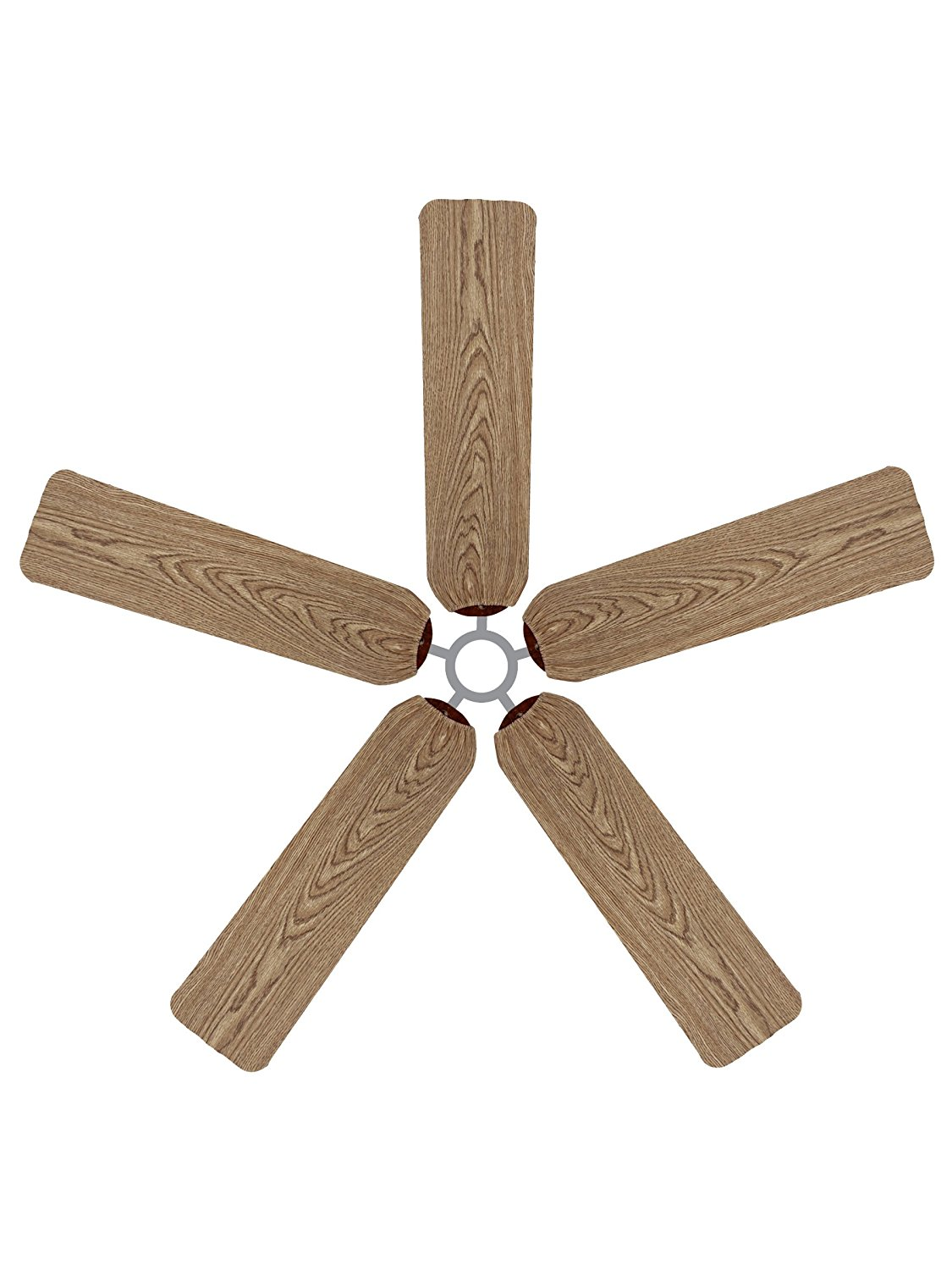 Fan Blade Designs 6541 Ceiling Fan Blade Covers, Wood