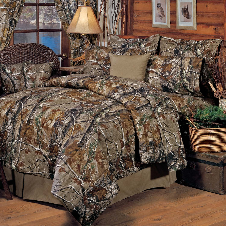 Realtree All Purpose Comforter Set, Queen