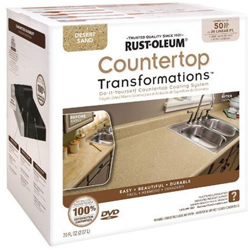 Rust-Oleum Countertop Transformations Kit, Desert Sand