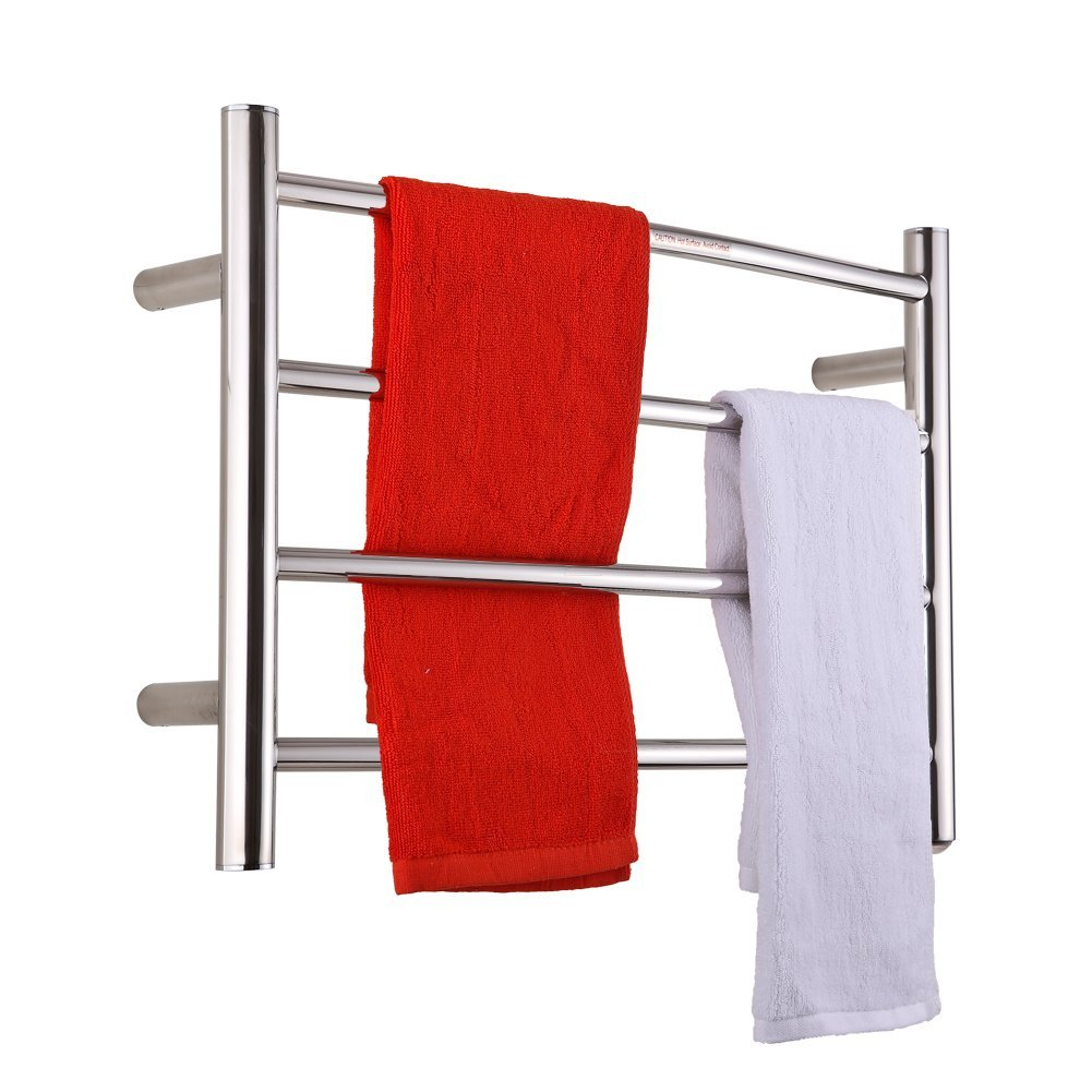 Sharndy Electric Towel Warmer Curve Towel Bars ETW29 Polish Chrome