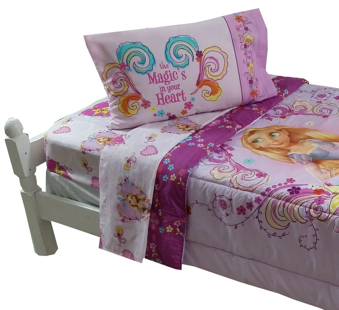 Tangled Comforter and sheet set