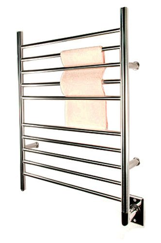 Amba RWH-SP Radiant Hardwired Straight Towel Warmer, Polished