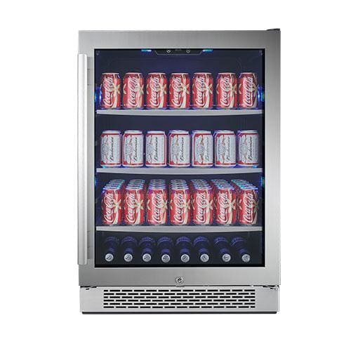 "Avallon 152 Can 24"" Built-In Beverage Cooler - Right Hinge"