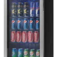 Danby 120 Can Beverage Center, Stainless Steel DBC120BLS