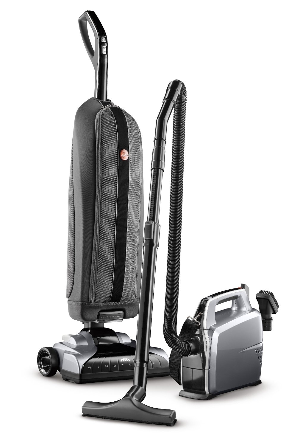 Hoover Platinum Collection Bagged Corded Upright Vacuum With Canister Cleaner Uh3001com