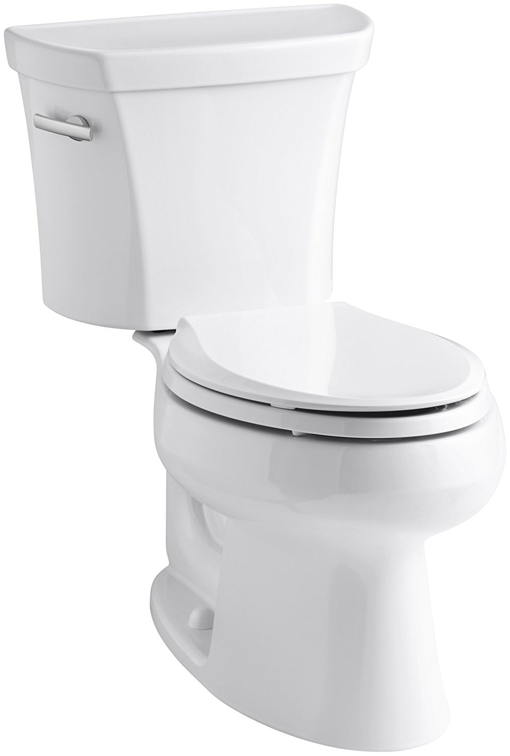 Kohler K-3978-0 Wellworth Elongated 1.6 gpf Toilet, White