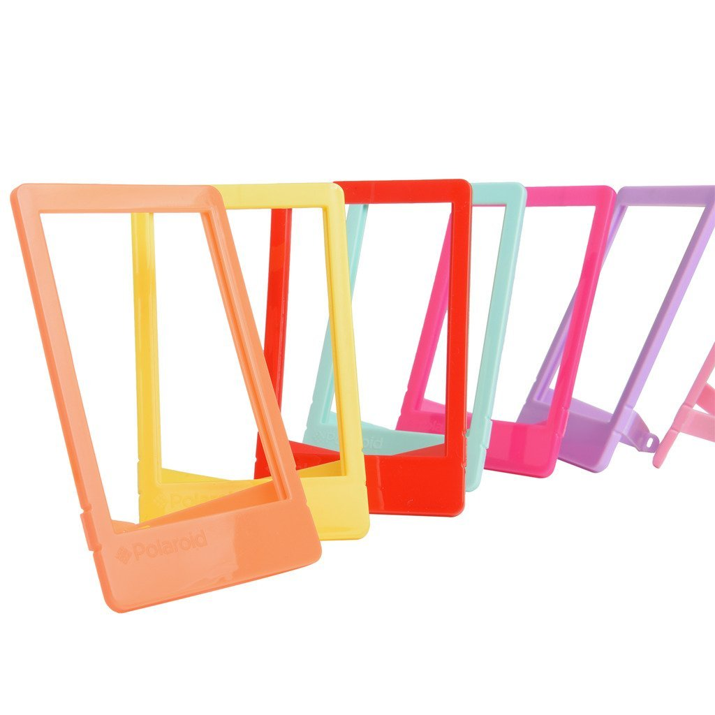"Polaroid 10 Colorful 2x3"" Mini Photo Picture Frames For 2x3 Photo Paper (Snap, Zip, Z2300)"
