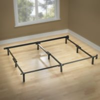 Zinus Compack 9-Leg Support Bed Frame, for Box Spring & Mattress Set, Cal King