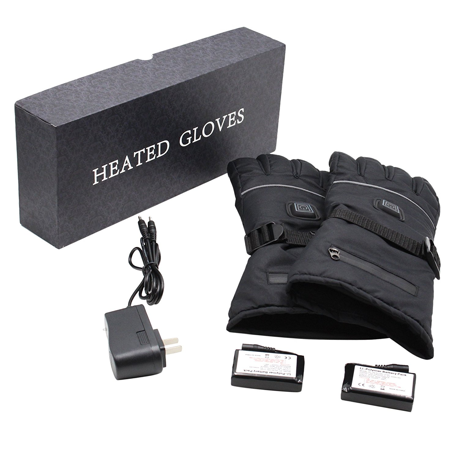 Rechargeable Battery Operated Heated Gloves with 3 Heat 7.4V