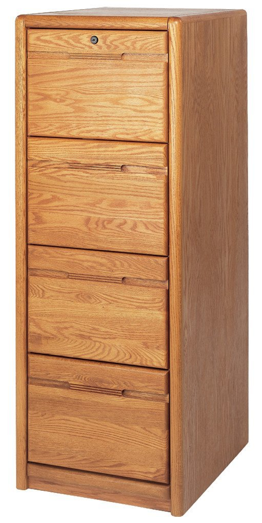 Best 4 Drawer Solid Wood Cabinet Furniture For File Organizing