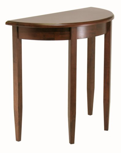 Winsome Wood Concord Half-Moon Table