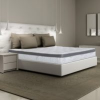 Olee Sleep 13 Inch Box Top Hybrid Gel Infused Memory Foam Innerspring Mattress (Queen) 13SM01Q