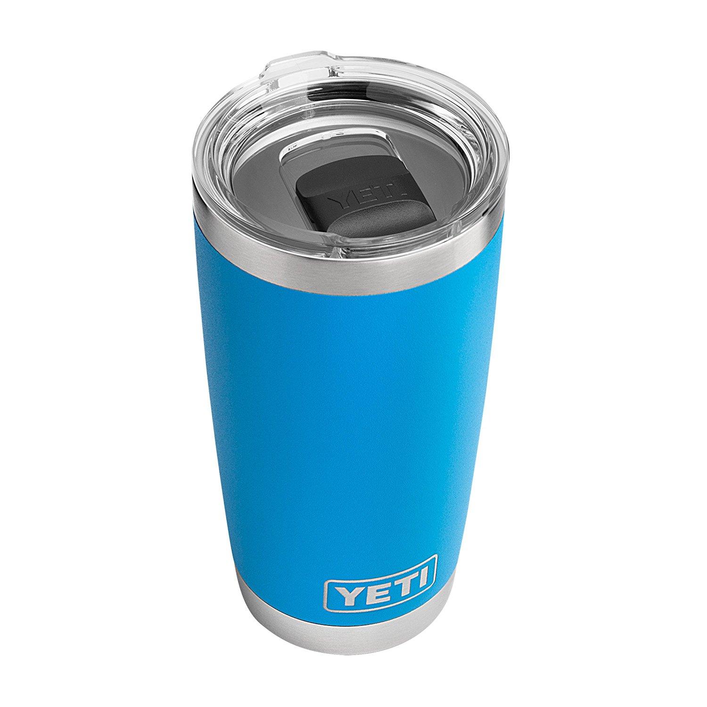 YETI Rambler 20 oz Stainless Steel Vacuum Insulated Tumbler w/ MagSlider Lid