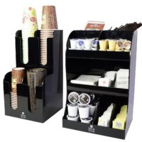 Jenx Acrylic Coffee Condiment and Organizer