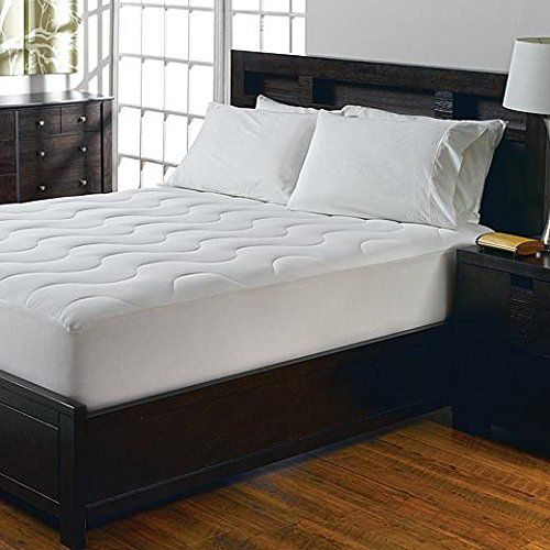 """Cannon Queen Sz 100% Waterproof Mattress Bed Protector Pad - Hypoallergenic Breathable Soft Padding GUARANTEED - Fitted Sheet Style Cover Fits up to 18"""" Mattresses - Protects Against Accidents - Eliminates Dust Mites - Reduces Allergies - Sleep Great"""