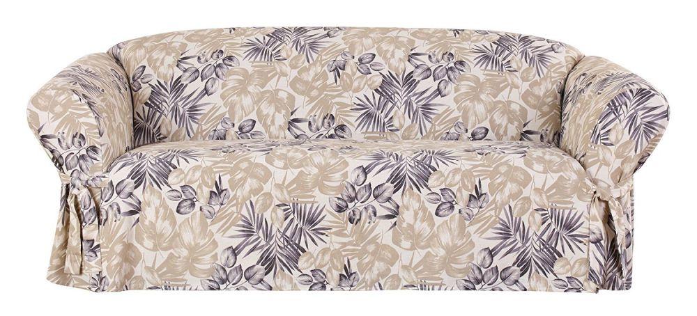 Sure Fit 1 Piece Tropical Floral Sofa, Multicolor